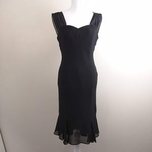 David Wayne little black dress LBD size 8